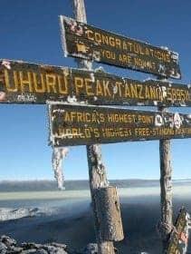 Machame Route Mount Kilimanjaro Climb