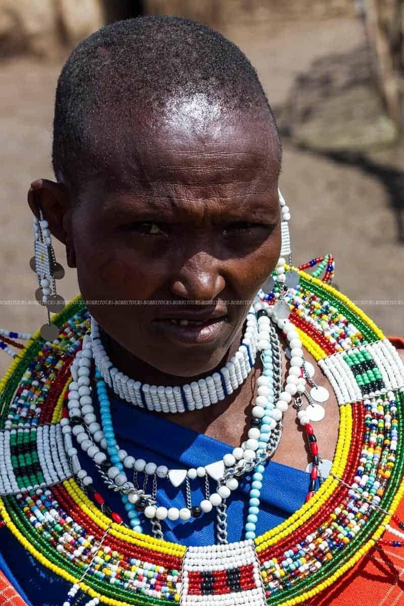 Maasai at Maasai Village Ngorongoro