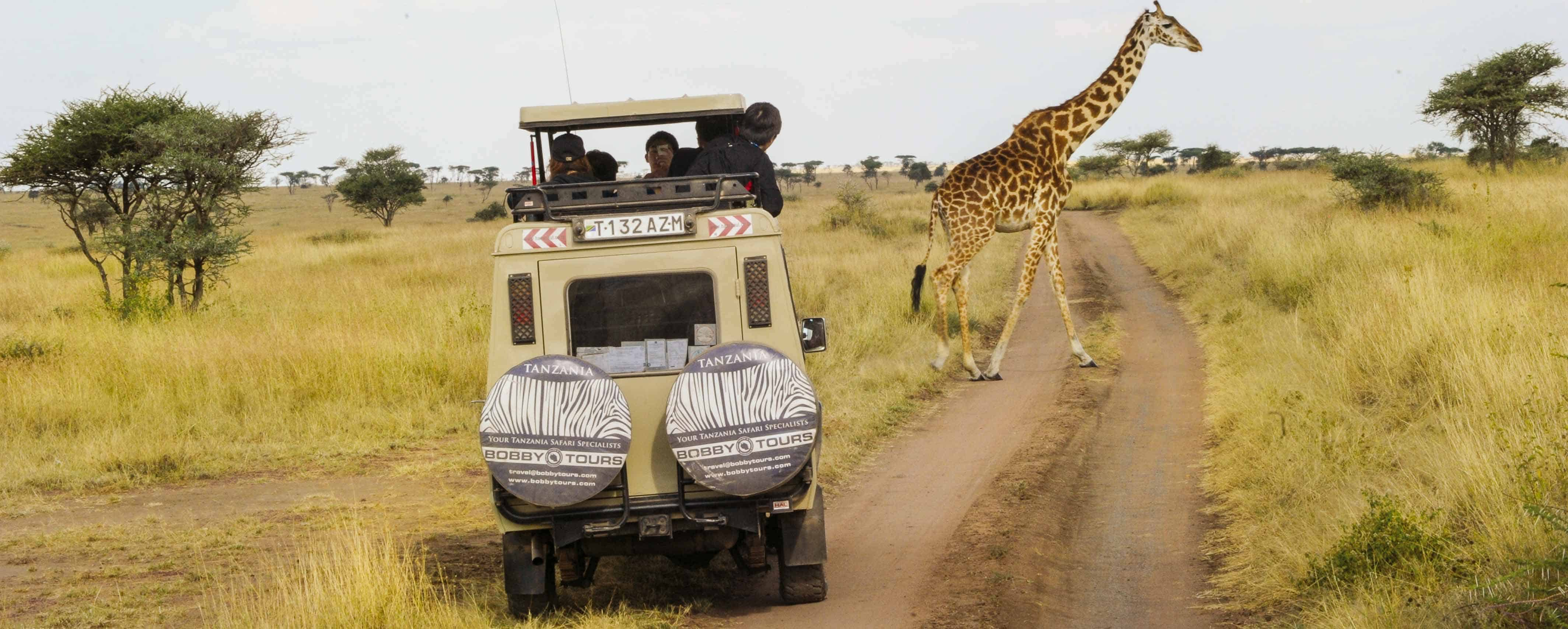 Safari Vehicle Bobby Tours Tanzania